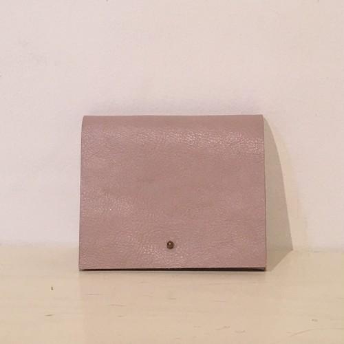 mïndy / mini leather  wallet  gray
