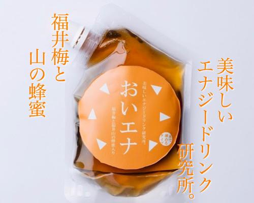 【6個パック】美味しいエナジードリンク研究所。福井梅と福井山の蜂蜜入り。