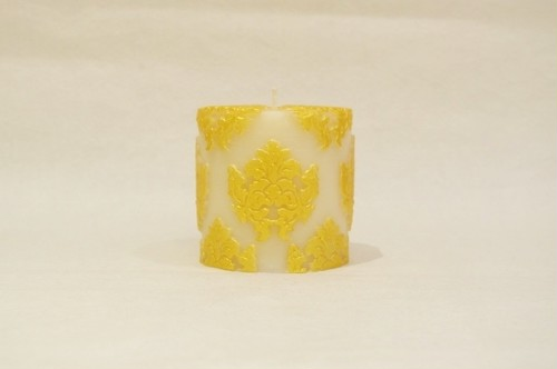 Orchid Small Pillar/Gold