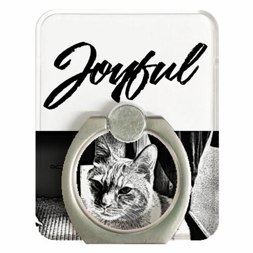 JOYFUL   Quarrel Cat   スマホリング