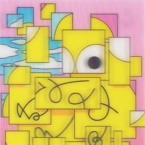 西武アキラ / 「3Dレンチキュラーカード / ピンク」