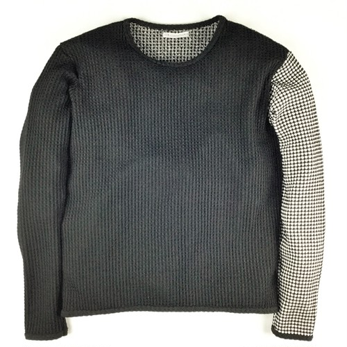 【AG by EXPERIMENT】2C WAFFLE L/S/Black