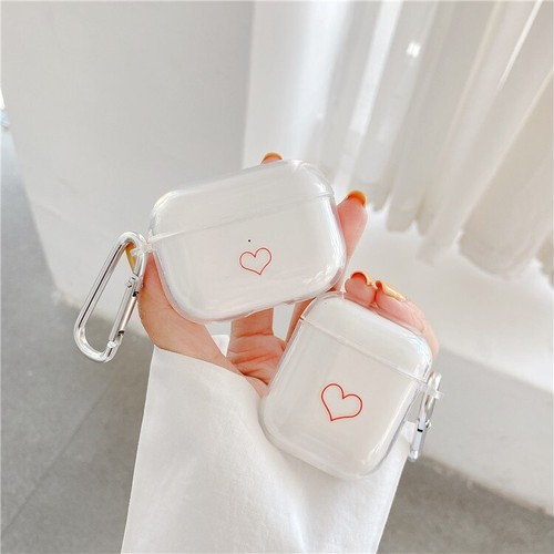Simple heart airpods1/2 Pro case