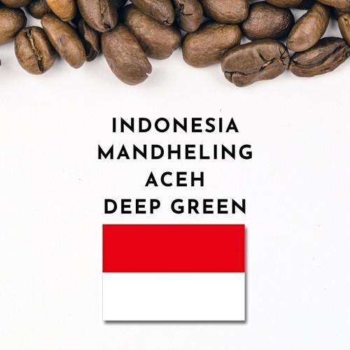 INDONESIA MANDHELING ACEH  DEEP GREEN  (インドネシア ・マンデリンアチェ・ディープグリーン)100g
