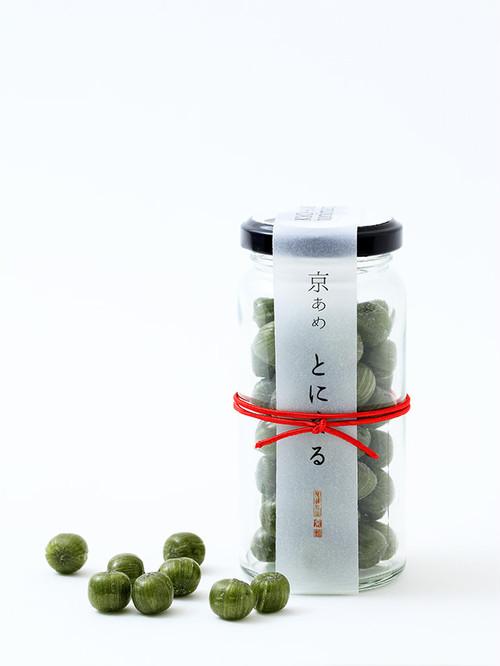【京あめ いろむすび】初昔(抹茶) ビン入タイプ