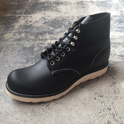 "Red Wing #8165 Classic Work 6 ""Round-Toe BLACK CHROME"