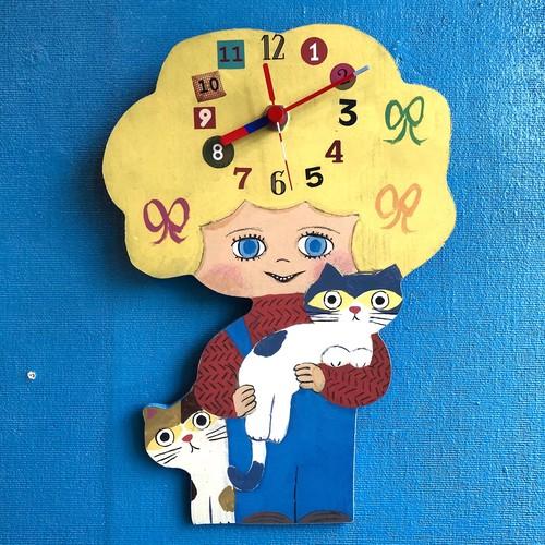 nakayoshi 2hiki no neko clock