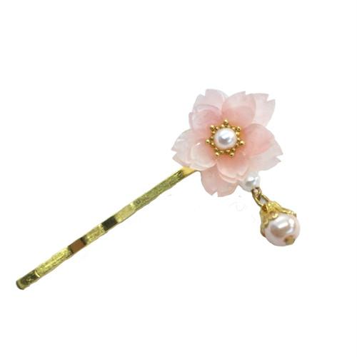 八重桜ヘアピン