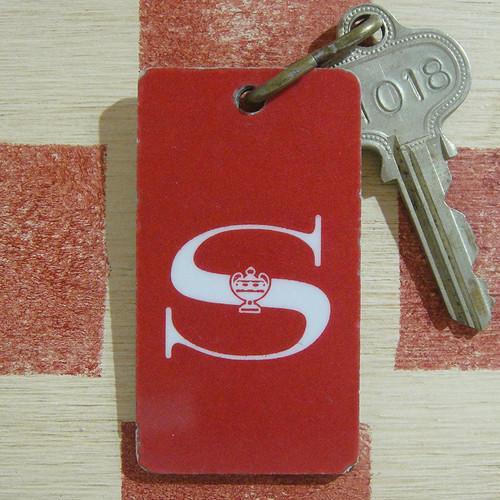 アメリカ ホテル   Sheraton[シェラトン]フィラデルフィア ヴィンテージ ルームキーホルダー