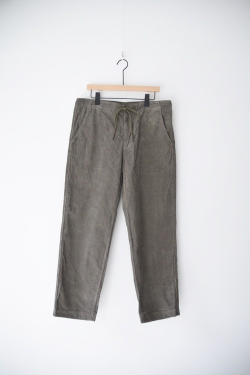 【ORDINARY FITS】 EASY PANTS corduroy/OF-P035