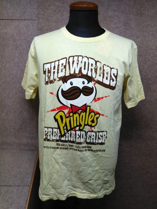 プリングルス Tシャツ L イエロー 未使用 u1172a