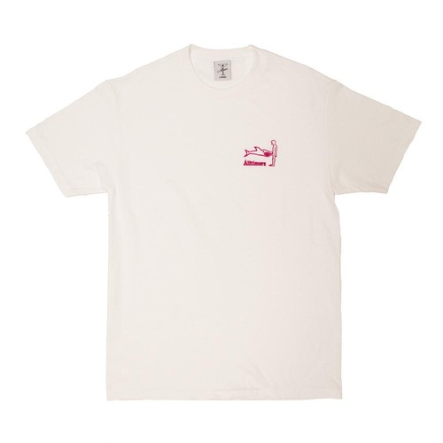 ALLTIMERS SHARK DICK TEE WHITE L