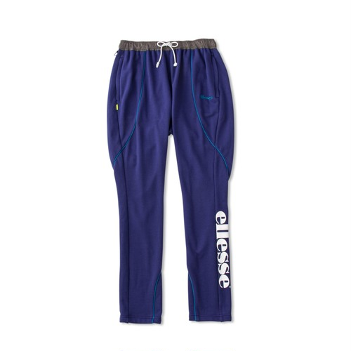 ELLESSE French Terry Piping Sarouel Pants PURPLE