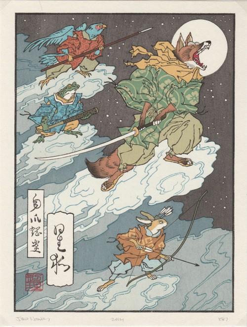 Fox Moon / Ukiyoe-Heroes (浮世絵ヒーロー)