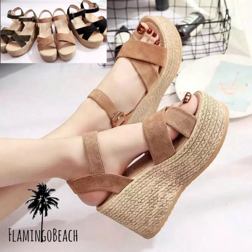 【FlamingoBeach】flat sole sandals サンダル