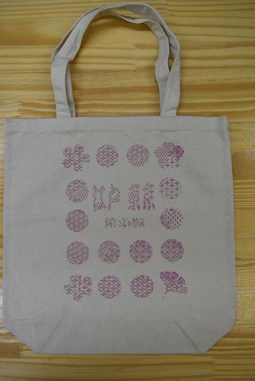 江戸小紋 トートバッグ 「東京シンボル」