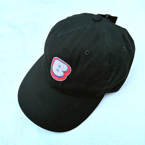 "Bamboo ""B"" Logo Cap ""Black"""