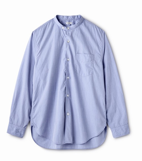 "PHIGVEL ""BAND COLLAR DRESS SHIRT"""