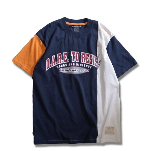 Remake Rearrange T-shirt -Navy
