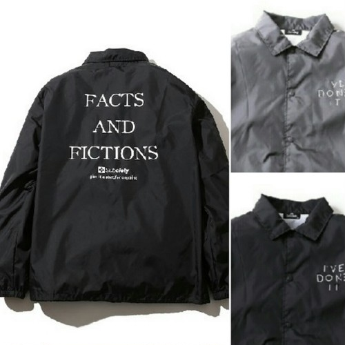 subciety  COACH JACKET-THE FACTS:-
