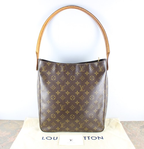 .LOUIS VUITTON M51145 DU0012 MONOGRAM PATTERNED TOTE BAG MADE IN FRANCE/ルイヴィトンルーピングモノグラムトートバッグ2000000051994