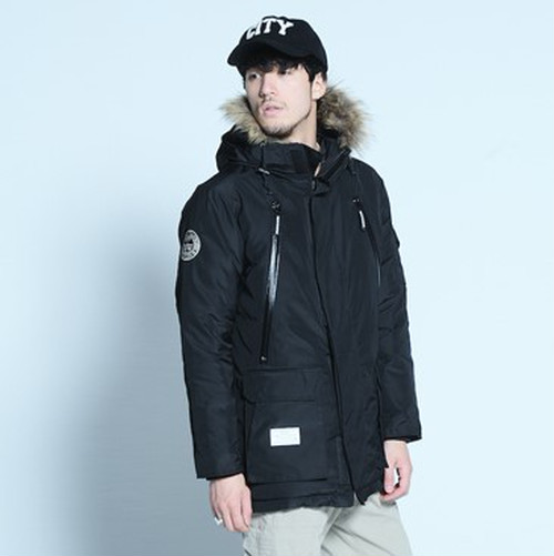 "VIRGO / ヴァルゴ | 【 20%Off Sale !!! 】 "" ANTARCTIC SPECIAL DOWN JACKET "" - BLACK -"