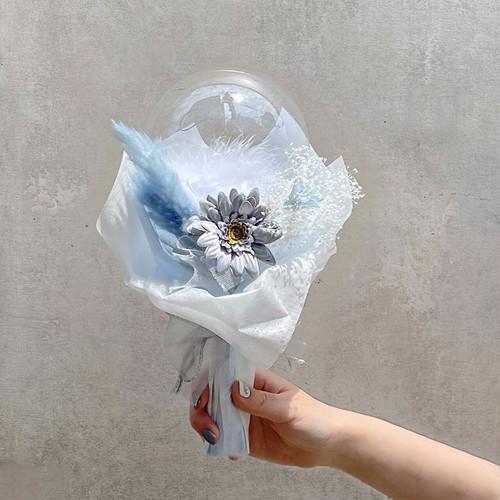 BALLOON FLOWER BOUQUET MINI - stella blue -