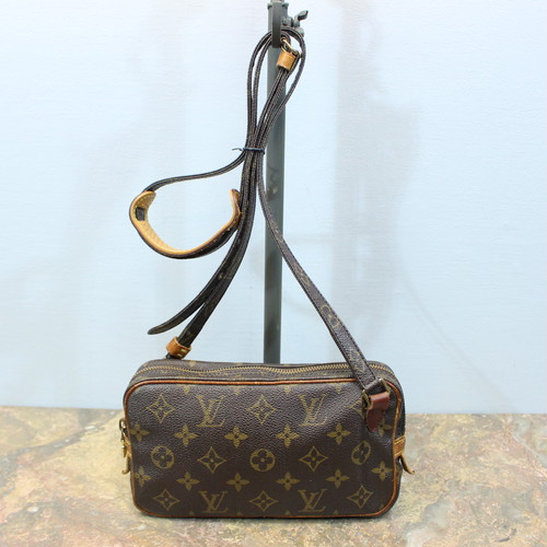 .LOUIS VUITTON  M51828 SL0955 MONOGRAM SHOULDER BAG MADE IN FRANCE/ルイヴィトンポシェットマルリーバンドリエールモノグラムショルダーバッグ 2000000031125