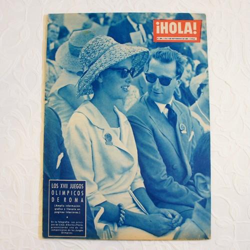 ¡HOLA! 1960年 ロサンジェルスオリンピック特集号   [OB-4]