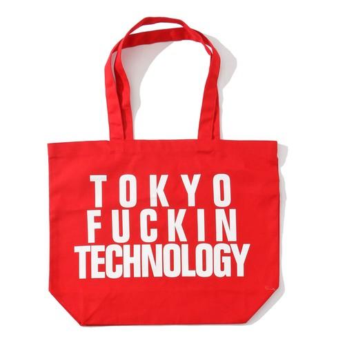 ANORAKS TOKYO FUCKIN TECHNOLOGY TOTE(RED)