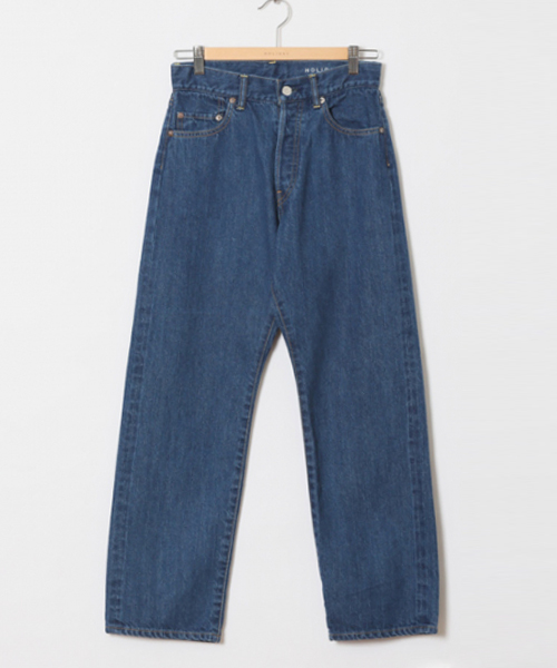HOLIDAY / STRAIGHT SELVIDGE DENIM PANTS