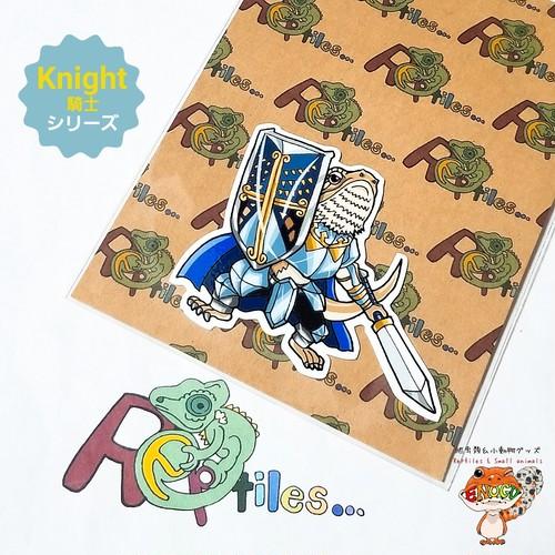[騎士フトアゴヒゲトカゲ]爬虫類ステッカー