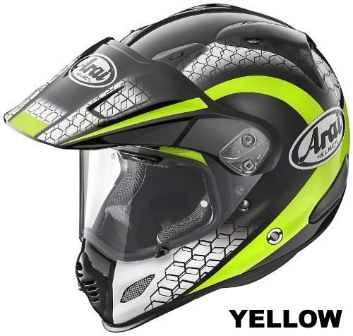 ARAI TOUR CROSS 3 MESH YELLOW
