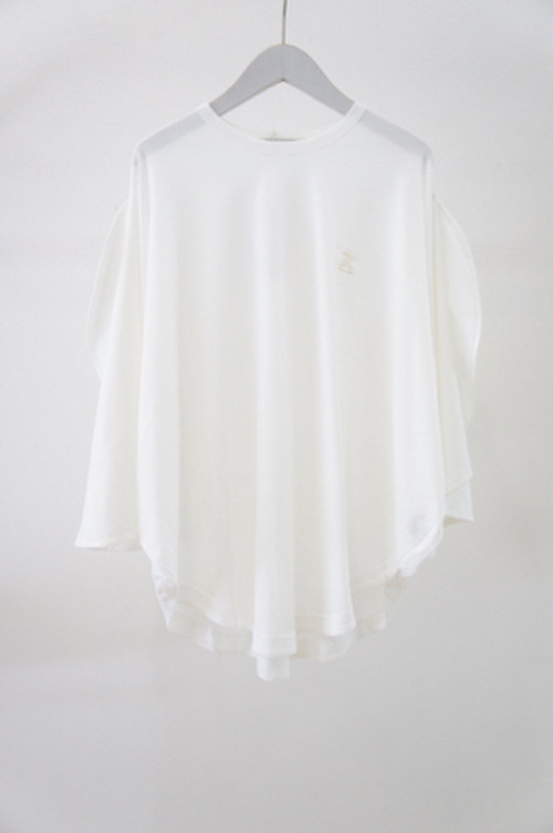 MICKEY SHILOUETTE TEE -WHITE- / MAISON CIRCLE by ANREALAGE