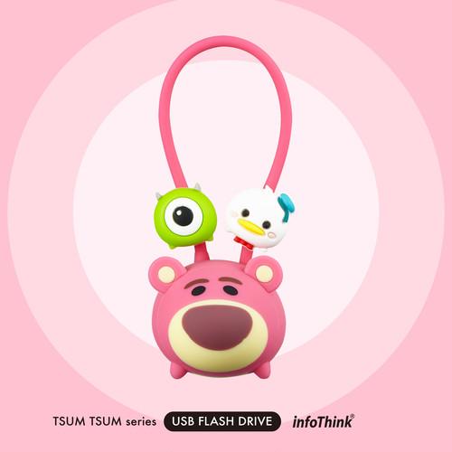 InfoThink USBメモリ Disney ディズニー ツムツム USBフラッシュドライブ 16GB ロッツォ USB-100 (TSUM Lotso)