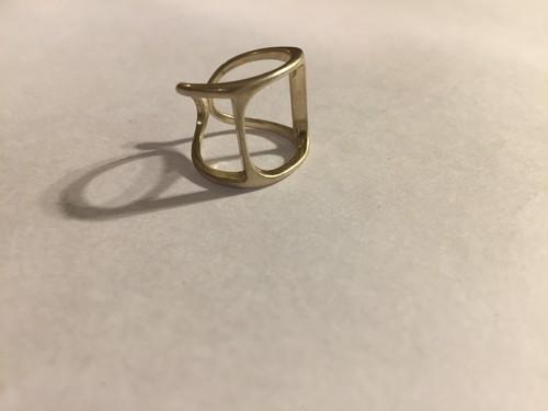 【14号〜調整可能】Vintage 925 ring