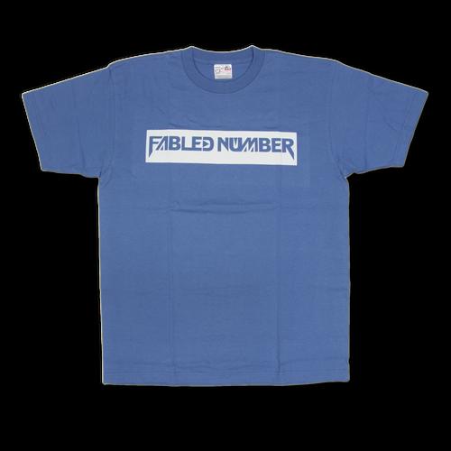 Logo T-shirts[青]