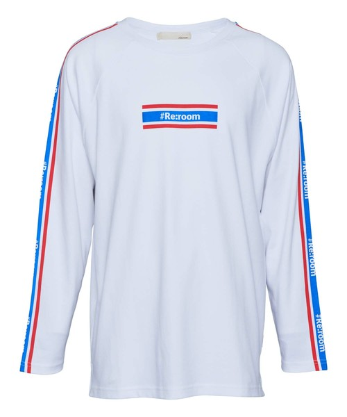 COLOR LINE LOGO BIG LONG SLEEVE[REC319]