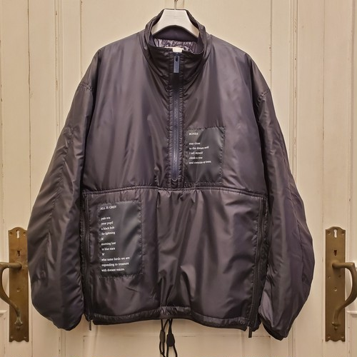 sj.0039AW19 balloon sleeve trek jacket.