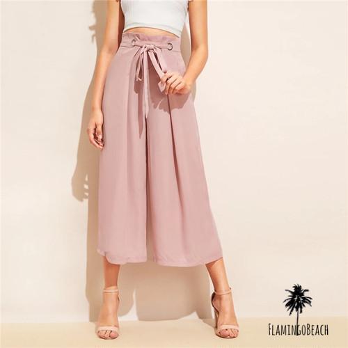 【FlamingoBeach】pink flare pants フレアパンツ 46811