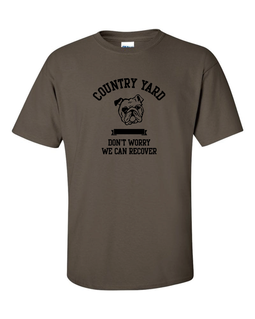 Recover Tee Brown
