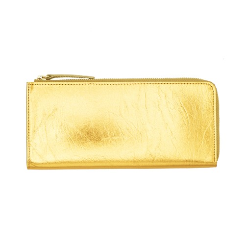 《財布M》TIN BREATH Purse Gold