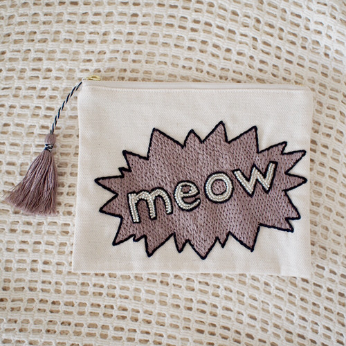 onomatope pouch【meow】