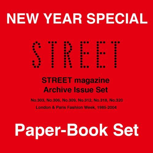STREET magazine Archive Paper-Magazine + eBOOK(紙版+デジタル版) 6冊 set