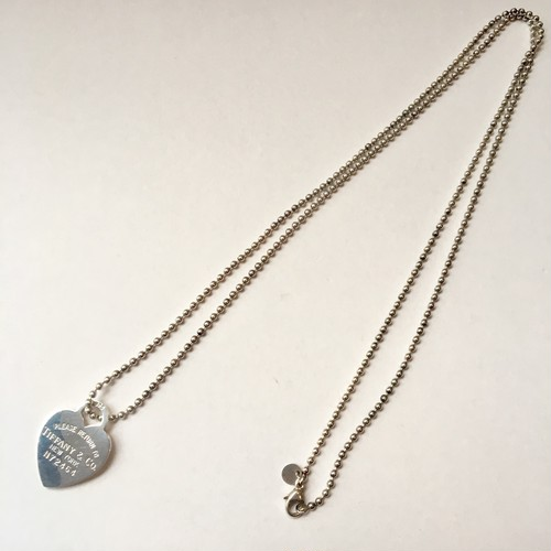 Vintage TIFFANY&Co. Heart tag Necklace