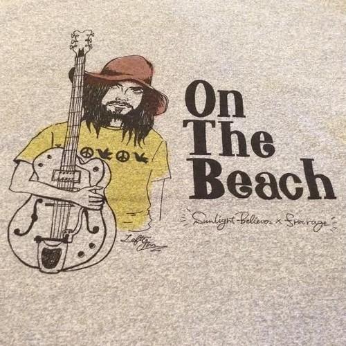 "Sunlight Believer / サンライト・ビリーバー   "" On The Beach "" Tee - Gray"