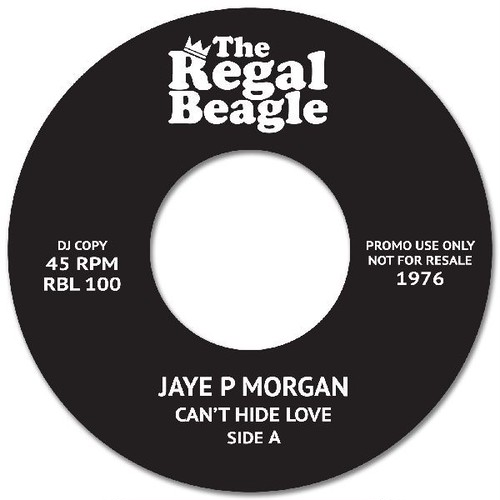 """【7""""】JAYE P. MORGAN - Can't Hide Love / Here is where your love belongs <REGAL BEAGLE LOUNGE>RBL100"""