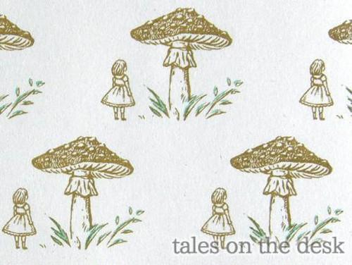 レターセット - きのこ少女 - tales on the desk