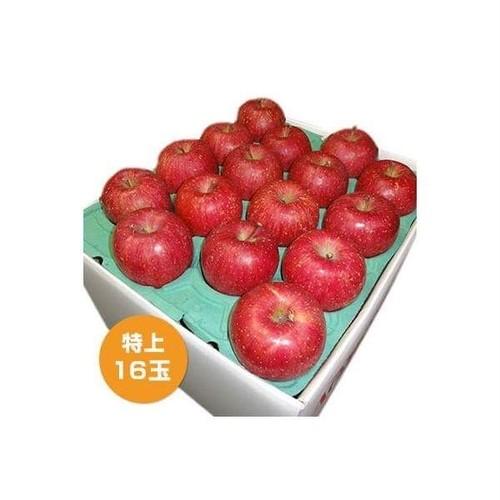 特上津軽産りんご サンふじ 16〜18玉入り