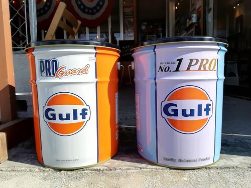 ★GULF/ガルフ社オフィシャル オイル缶スツール★各種